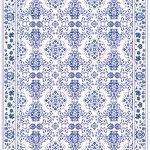 Custom Pattern Nepalese Rug Annellie