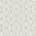 Custom Pattern Nepalese Rug Chain Yellow Grey