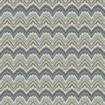 Custom Pattern Nepalese Rug Flamestitch Green