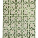 Custom Pattern Nepalese Rug Jacks Green Runner