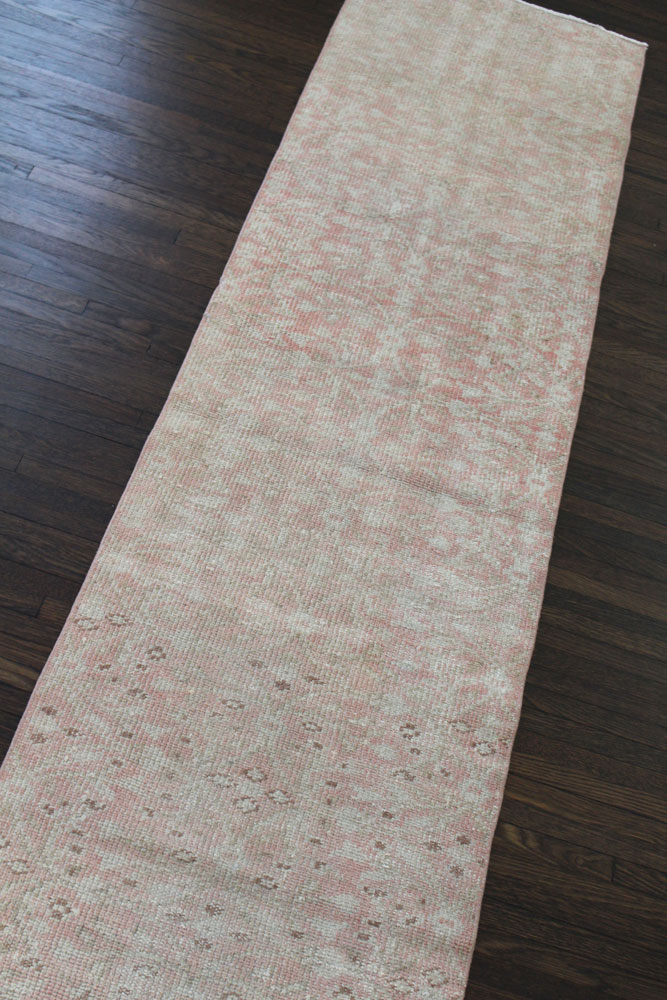 Pink Neutral Patterned Fay + Belle Runner Angle 1
