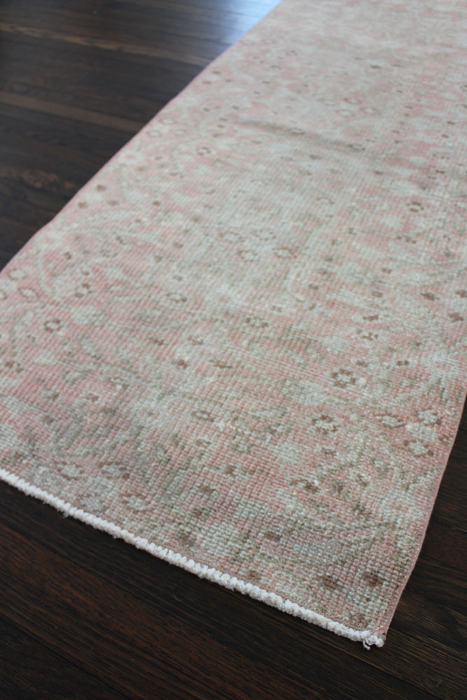 Pink Neutral Patterned Fay + Belle Runner Angle 2