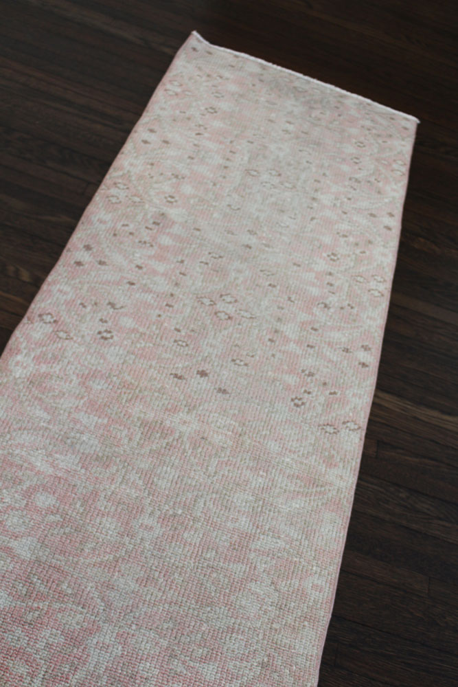 Pink Neutral Patterned Fay + Belle Runner Angle 3