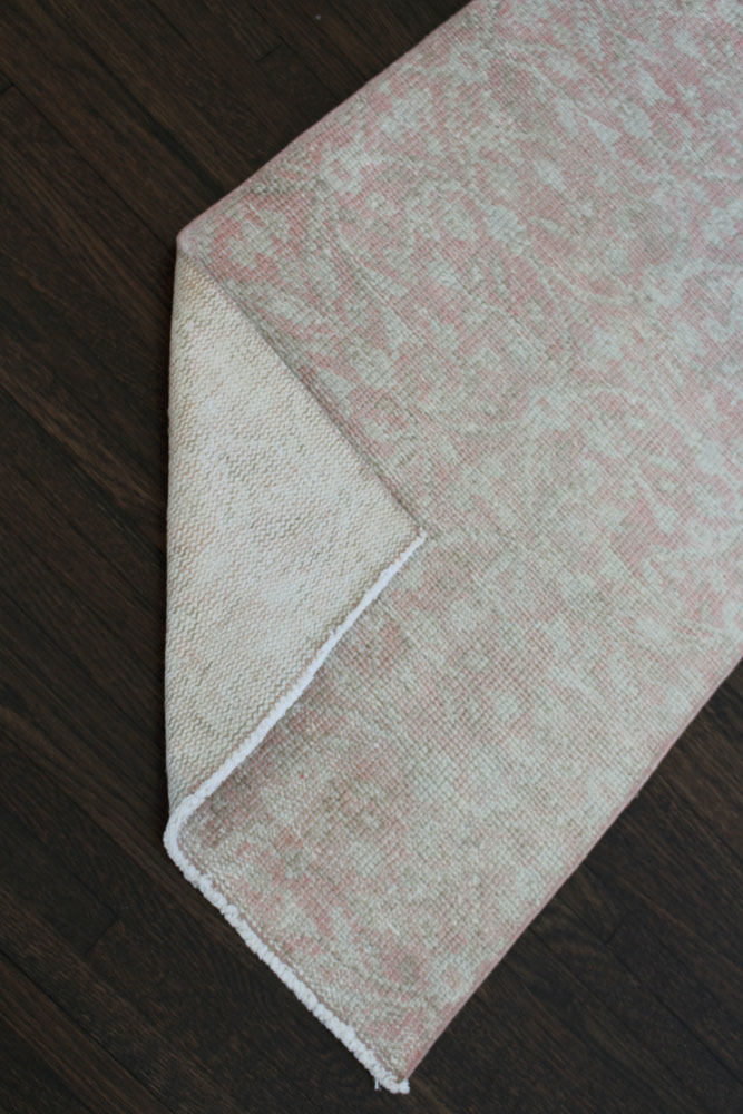 Pink Neutral Patterned Fay + Belle Runner Angle 4
