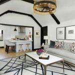 Living Room Interior Custom Shatter Rug